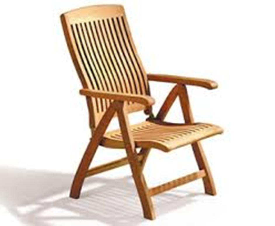 Image of: Reclining Patio Chair Plans
