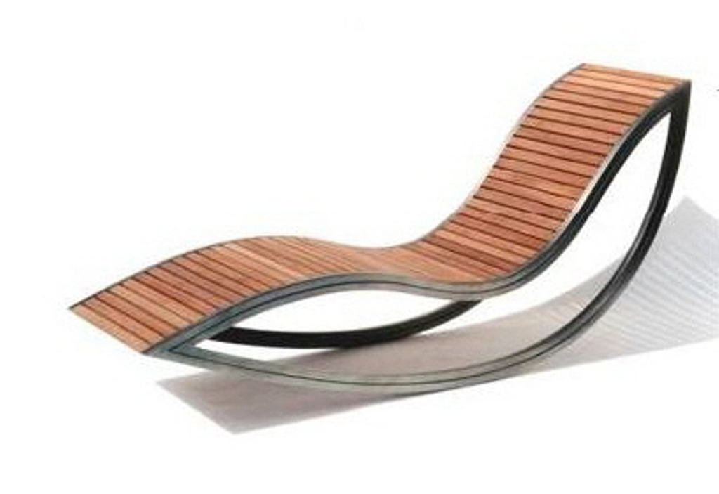 Image of: Reclining Patio Chair Plastic