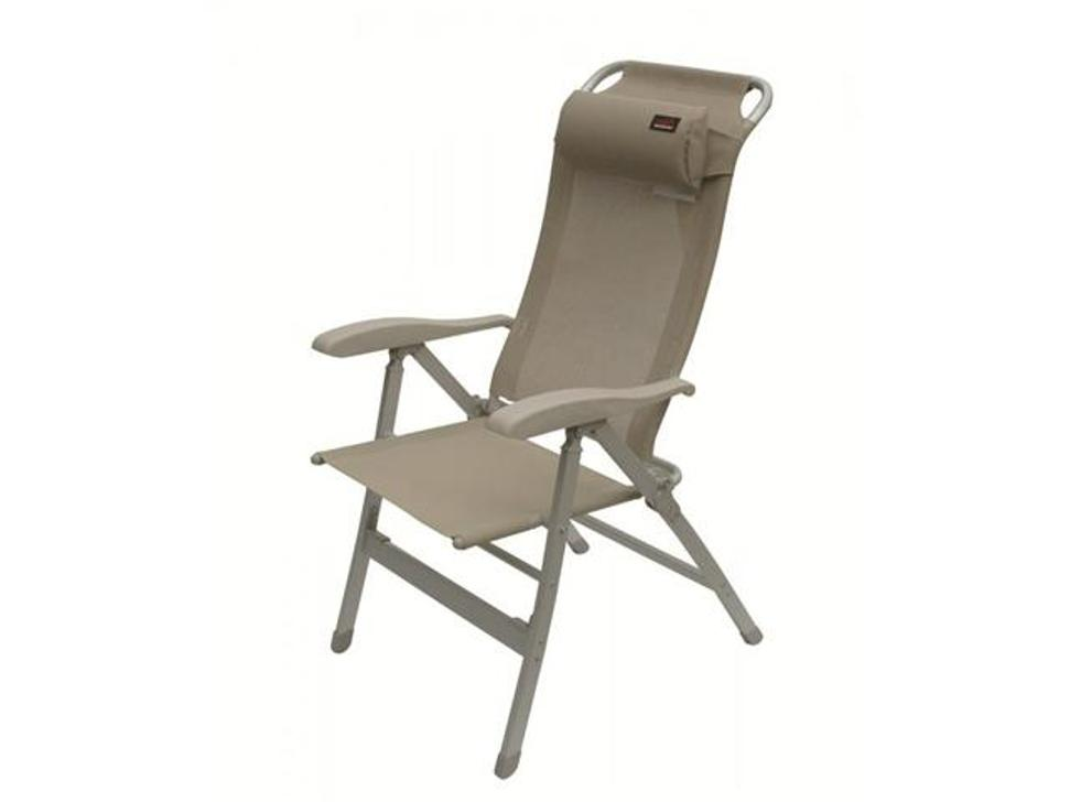 Image of: Reclining Patio Chair with Pull out Ottoman