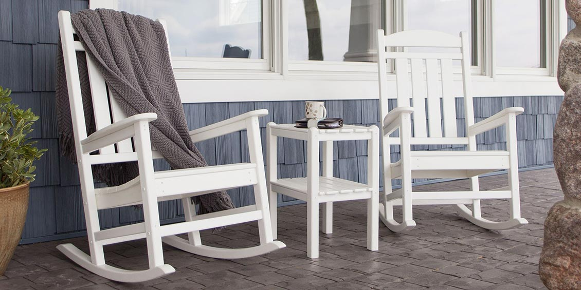 Image of: Resin Porch Rocking Chairs