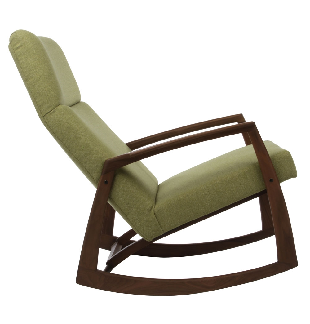 Image of: Rocker Recliner Chair Rails Model