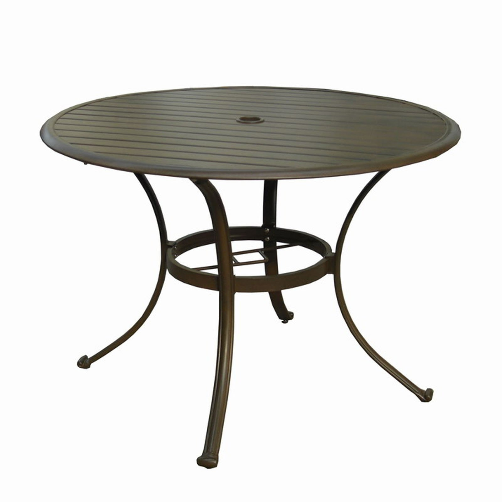 Image of: Round Patio Table Umbrella