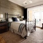 Rustic And Contemporary Bedroom