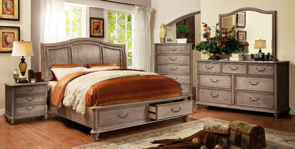 Image of: Rustic Bedroom Furniture Sets King