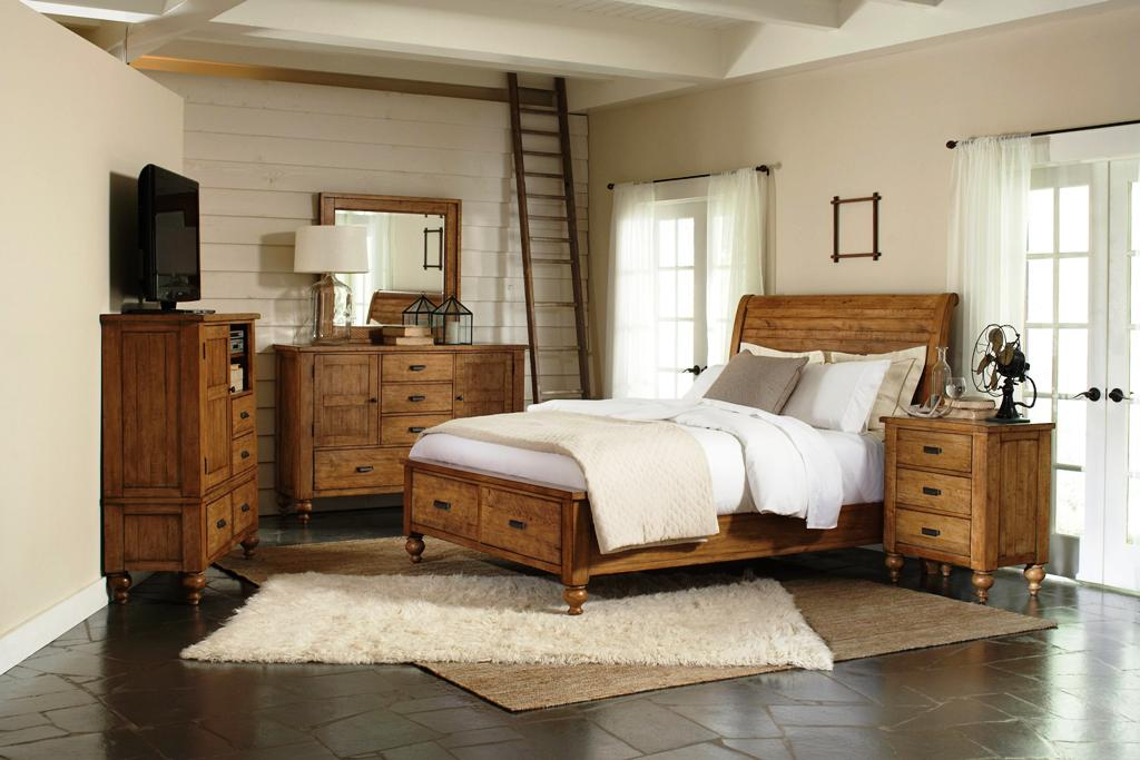 Image of: Rustic Bedroom Sets King Pictures