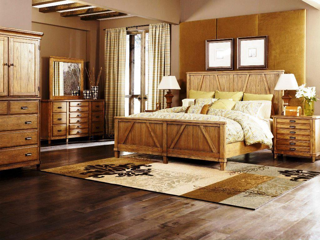 Image of: Rustic California King Bedroom Sets