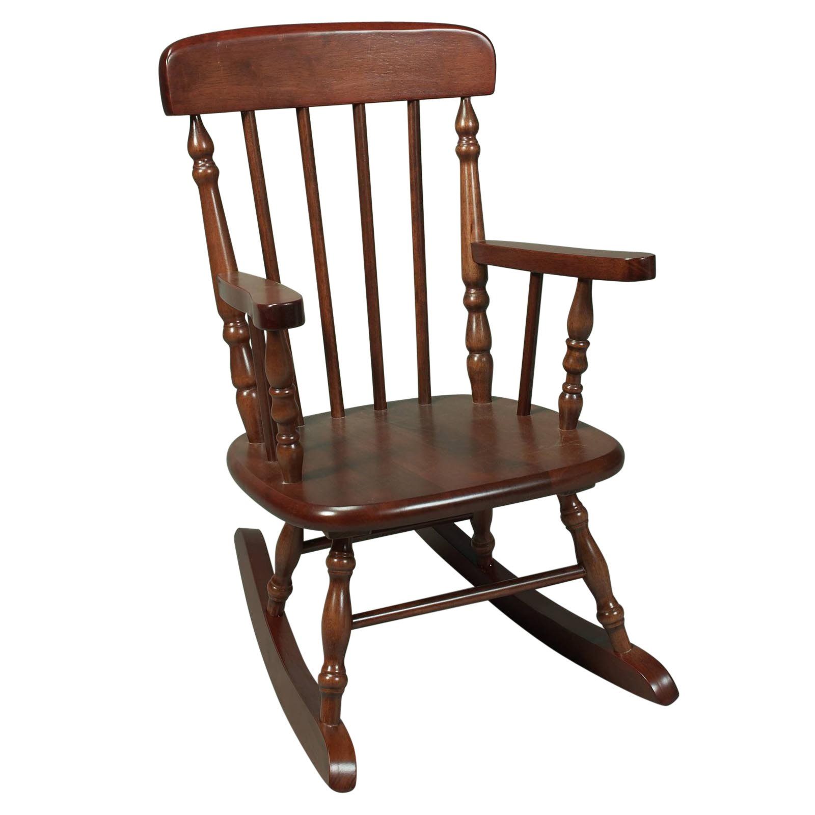 Image of: Rustic Childrens Rocking Chair