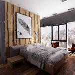 Rustic Contemporary Bedroom