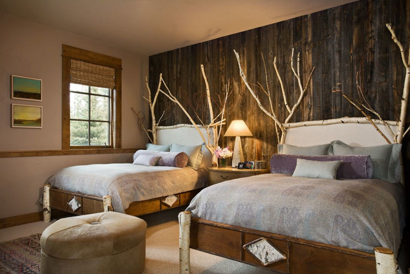 Image of: Rustic Contemporary Bedroom Furniture