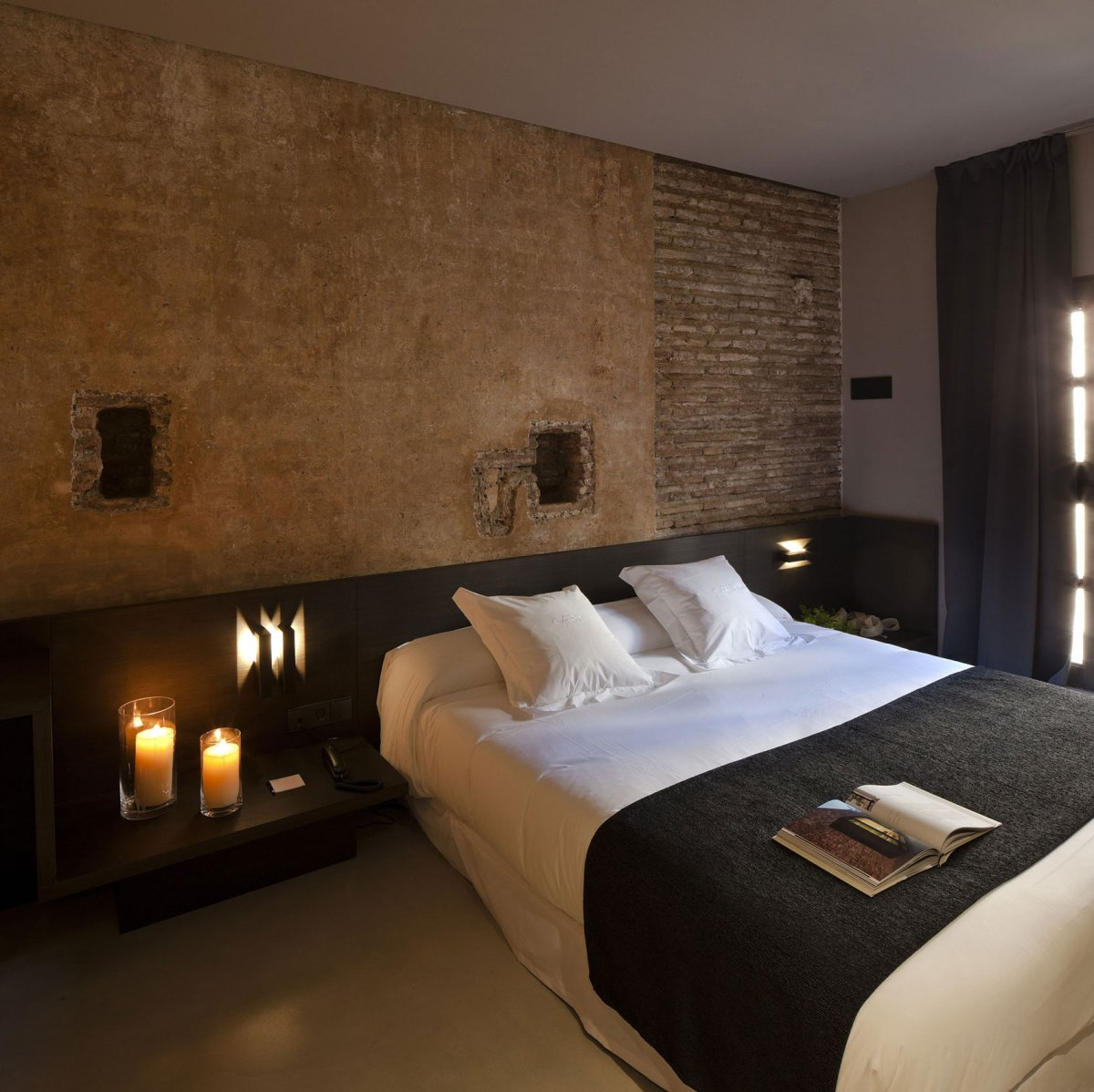 Image of: Rustic Contemporary Master Bedrooms