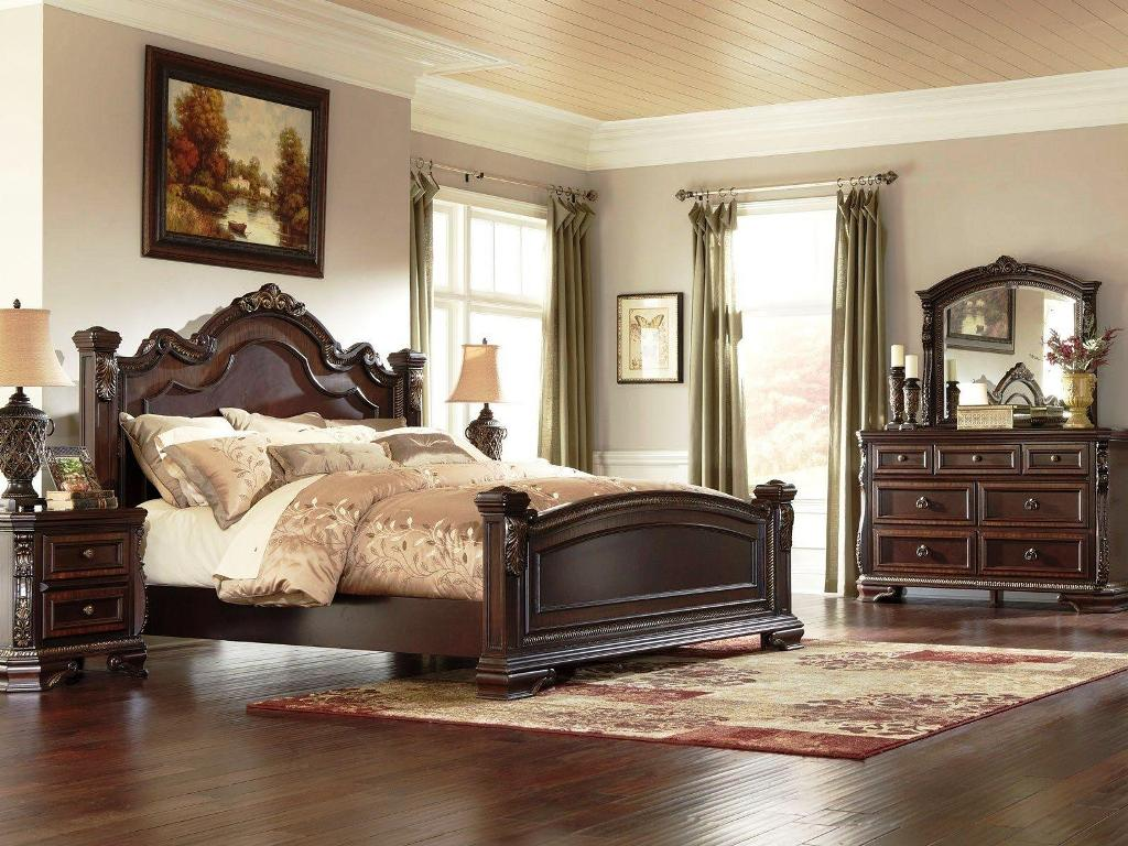 Image of: Rustic King Size Bedroom Sets
