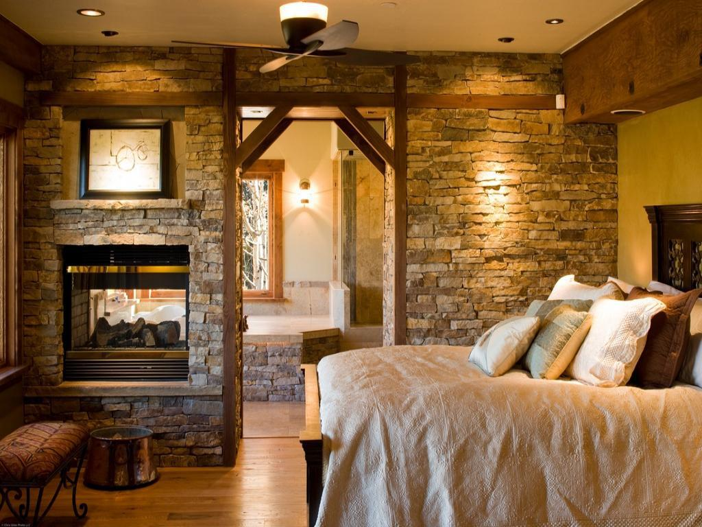 Image of: Rustic Master Bedroom