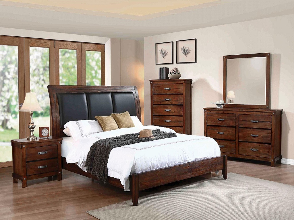 Rustic Oak Bedroom Sets