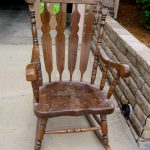 Rustic Rocking Chairs Design