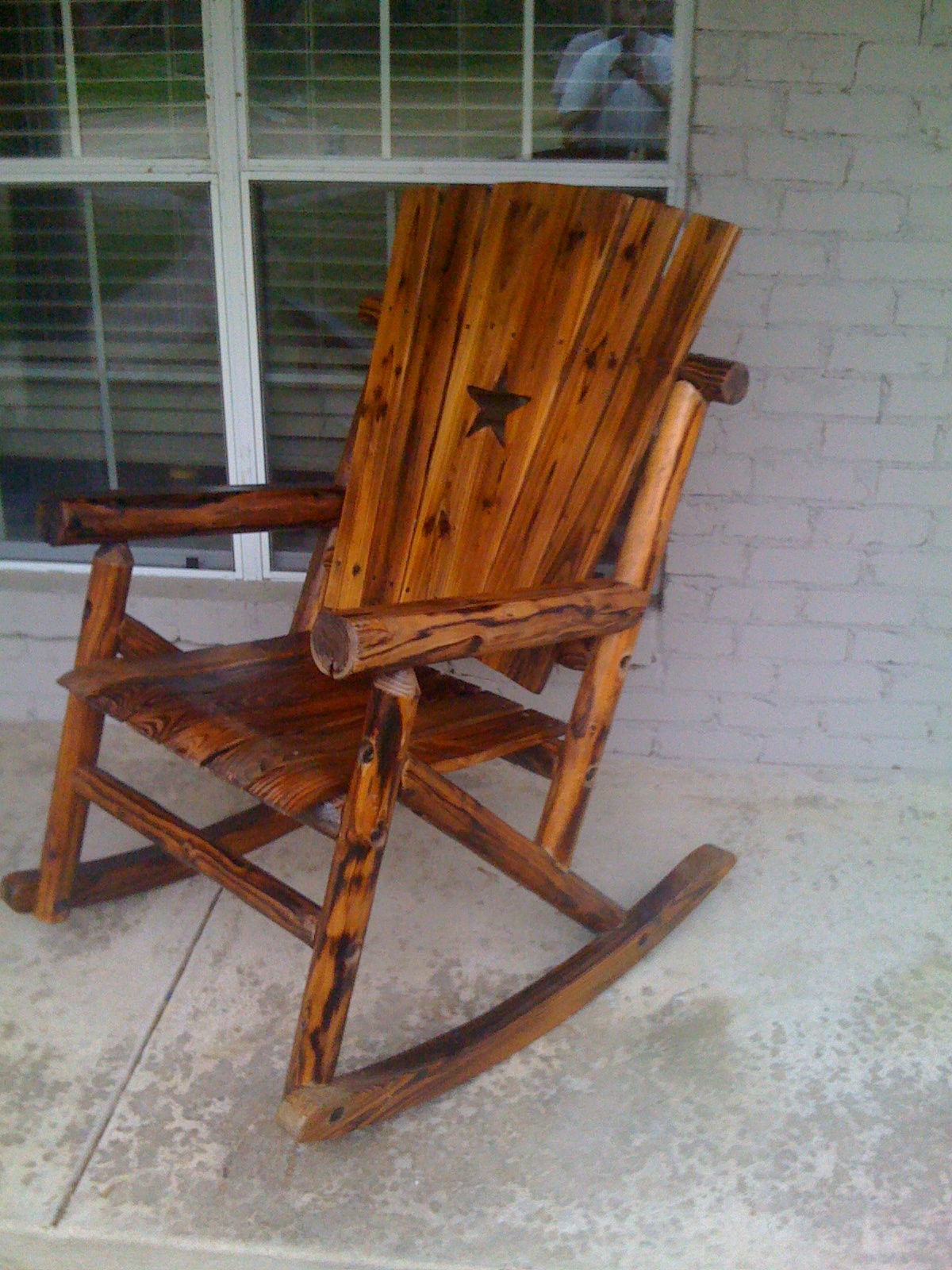 Image of: Rustic Rocking Chairs Furniture