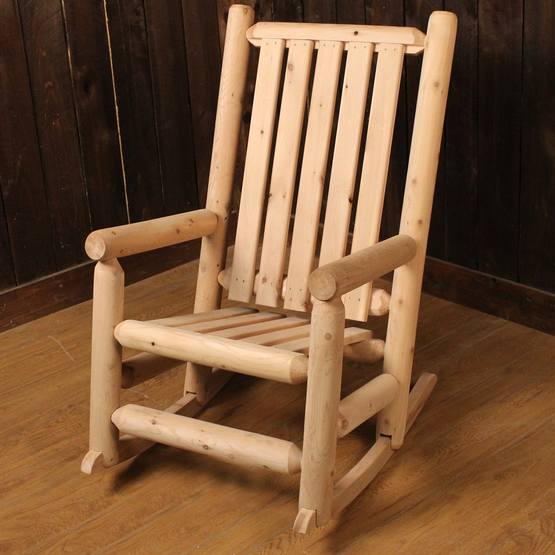 Image of: Rustic Rocking Chairs Ideas