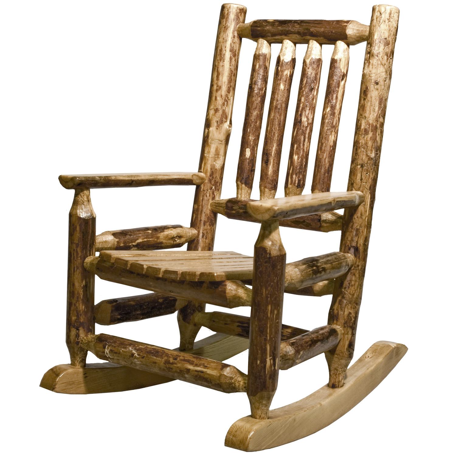 Image of: Rustic Rocking Chairs Style