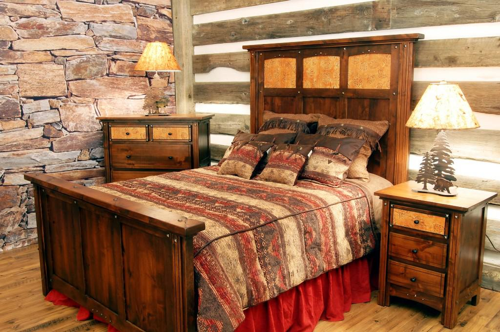 Image of: Rustic Western Furniture Canada