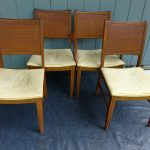 Simple Cane Back Dining Chairs