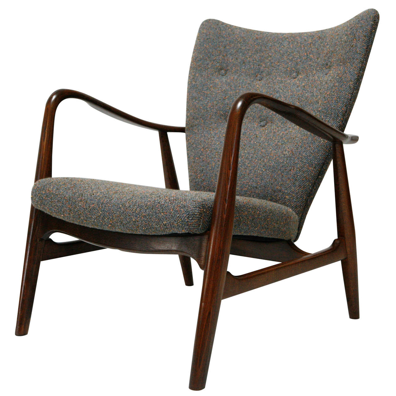 Image of: Simple Danish Lounge Chair