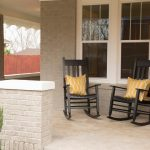 Simple Front Porch Rocking Chairs