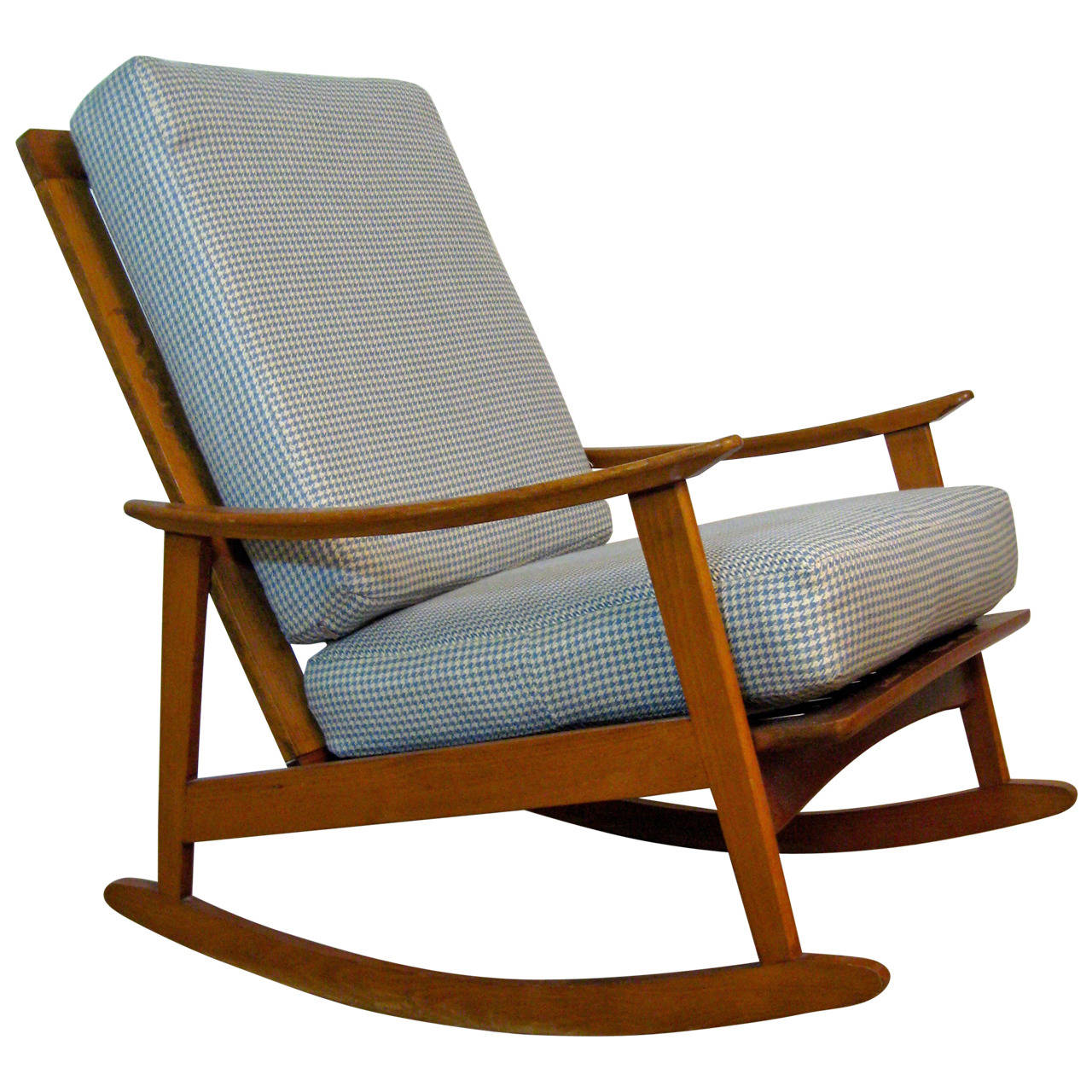 Image of: Simple Mid Century Modern Rocking Chair