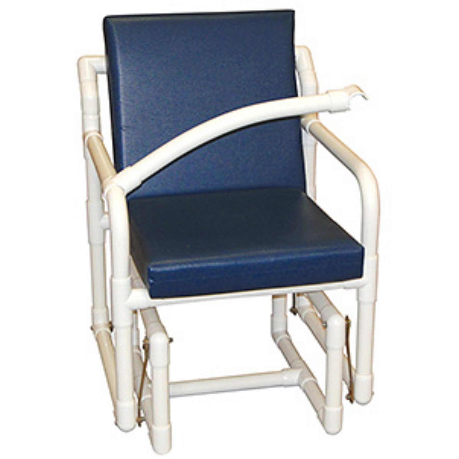 Image of: Simple Patio Glider Chair