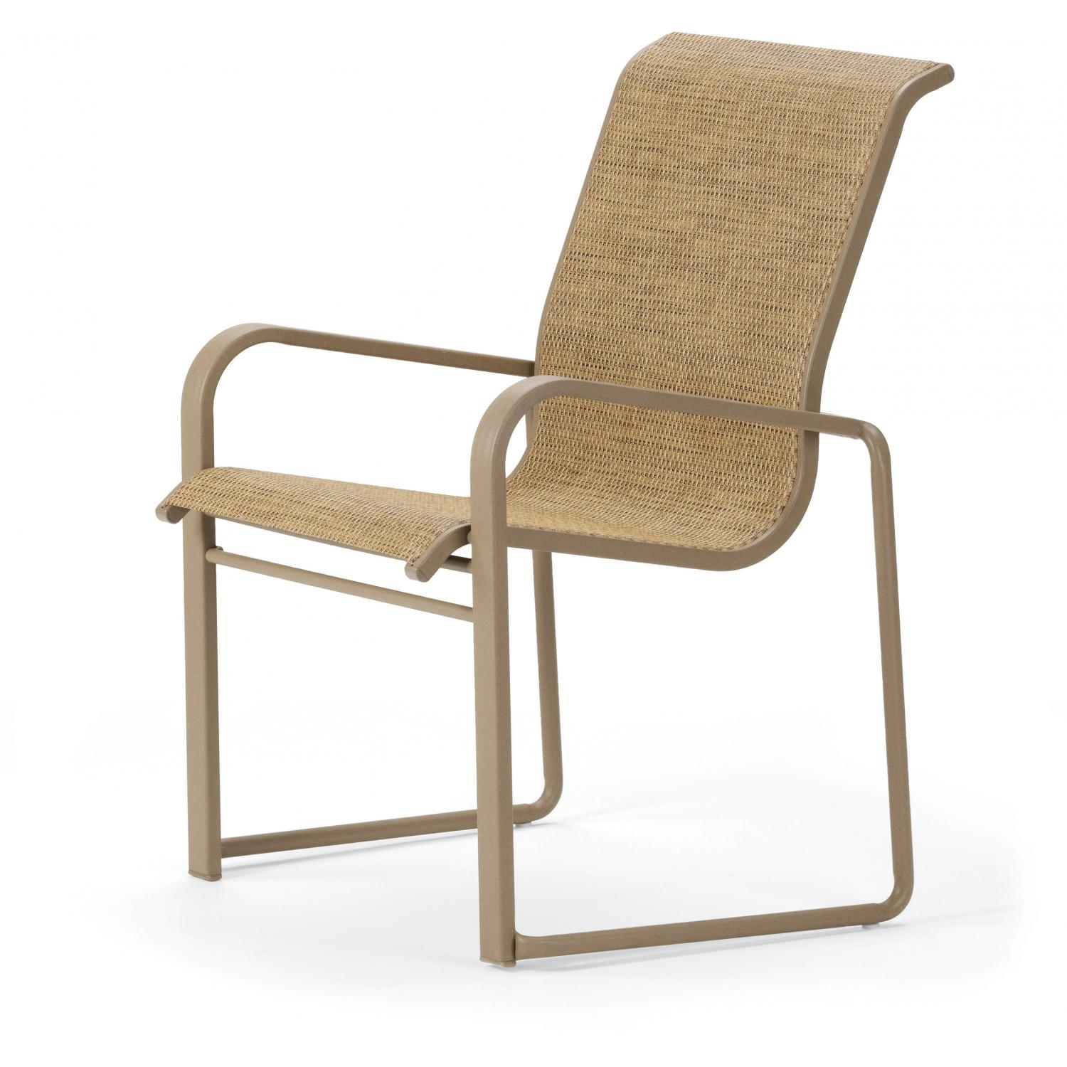 Image of: Simple Patio Sling Chairs