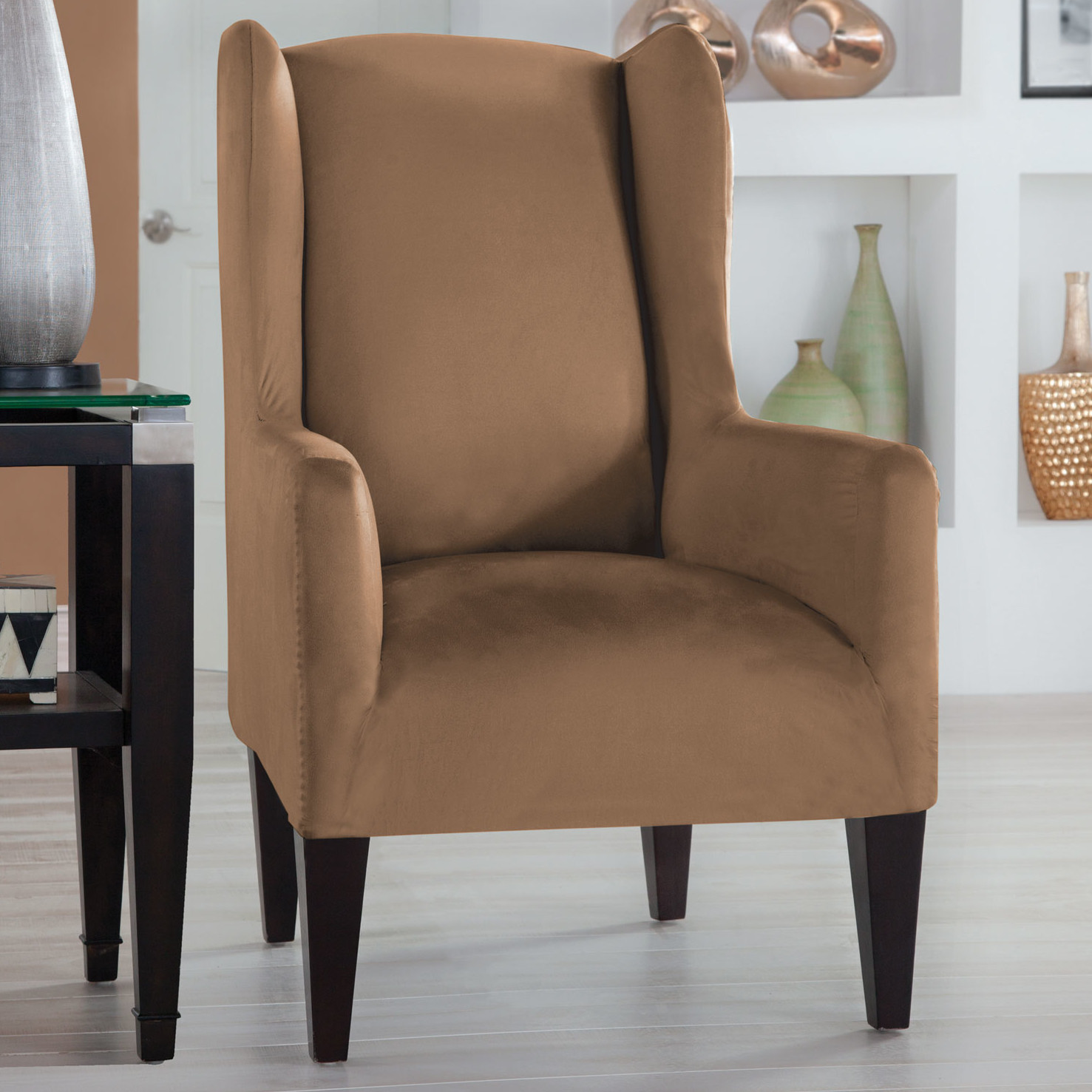 Image of: Simple Wing Chair Recliner