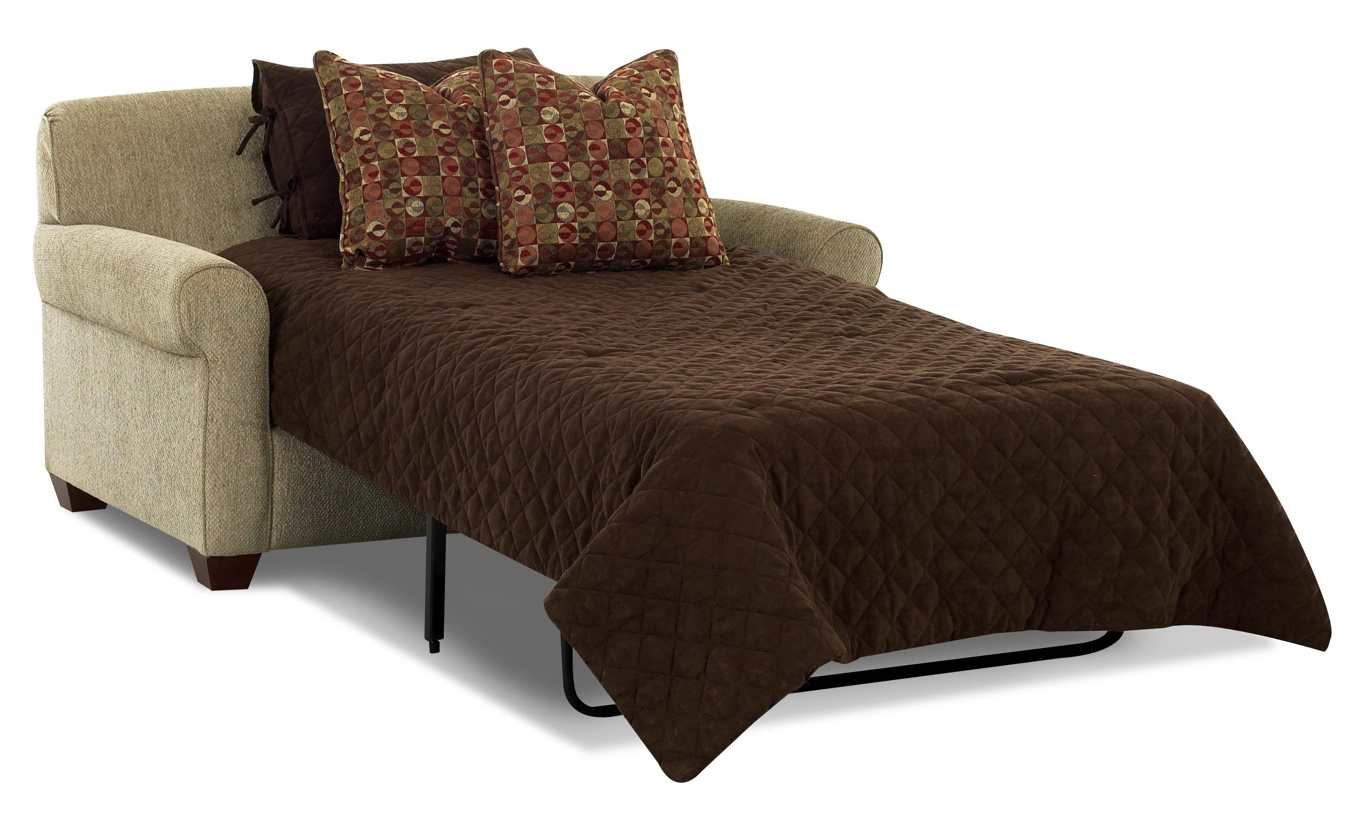 Image of: Sleeper Chair Bed Style