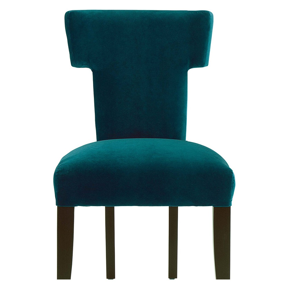 Image of: Small Navy Blue Accent Chair