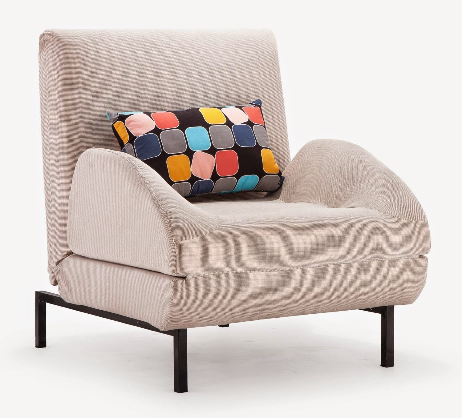 Image of: Small Twin Size Sleeper Chair