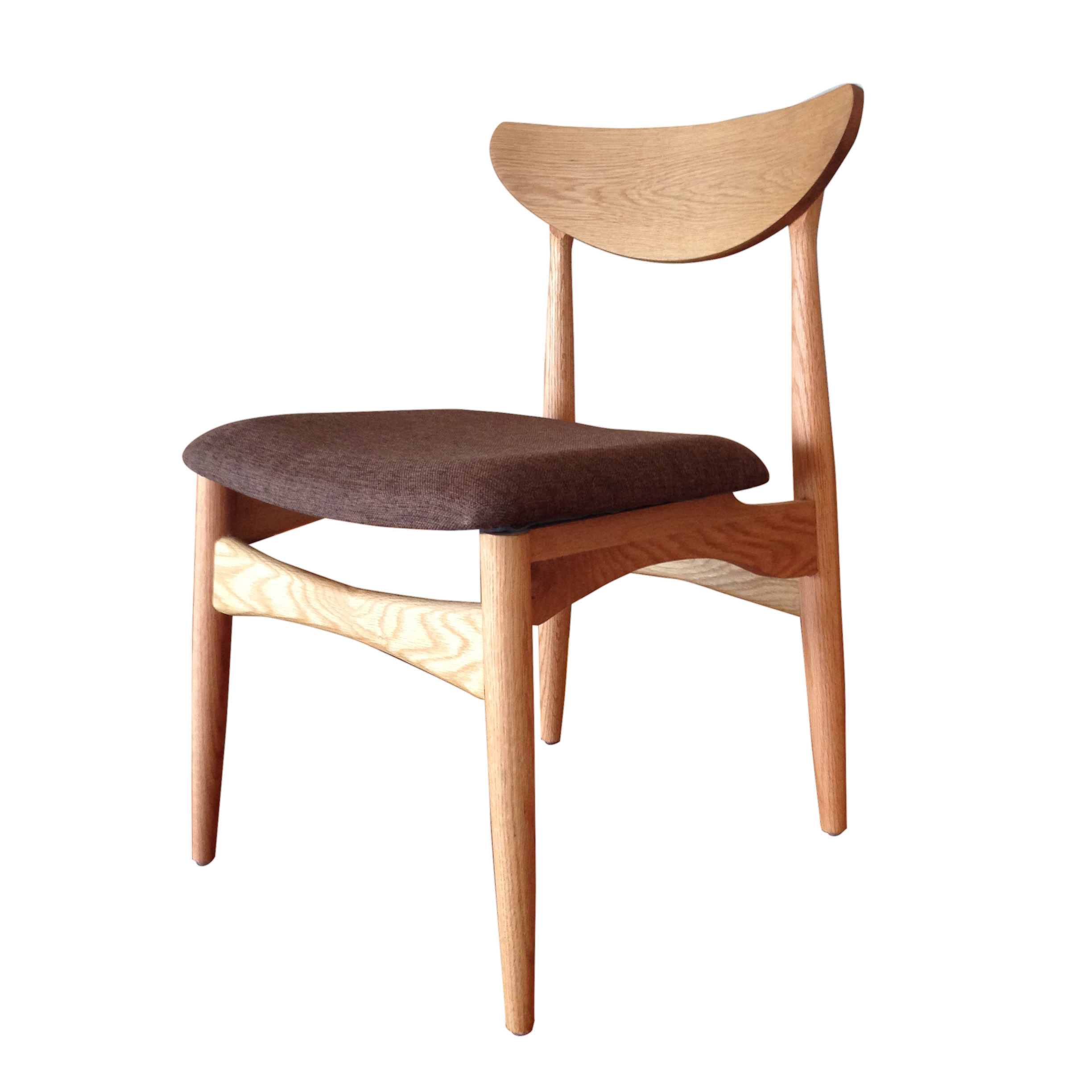 Image of: Small Unfinished Wood Dining Chairs