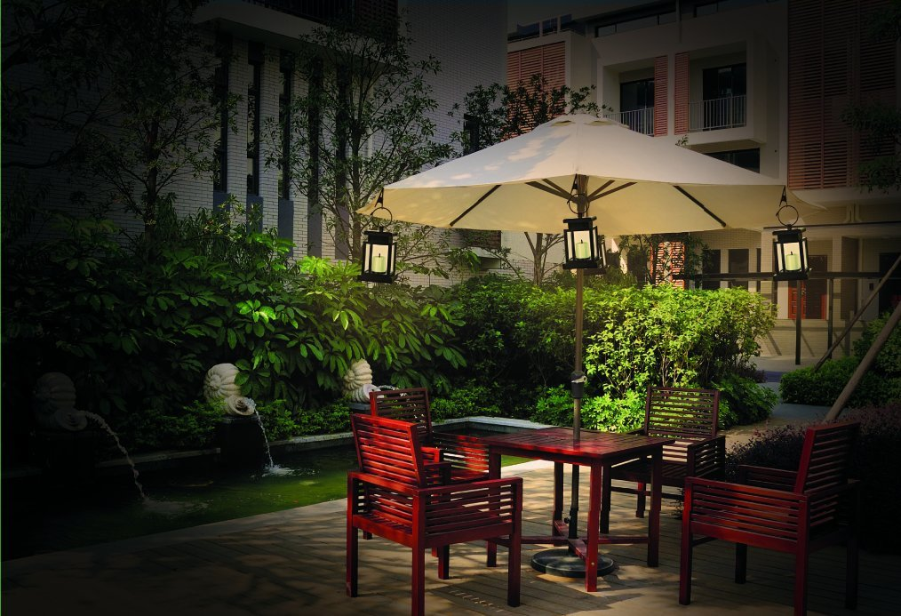 Solar Patio Lights Umbrella