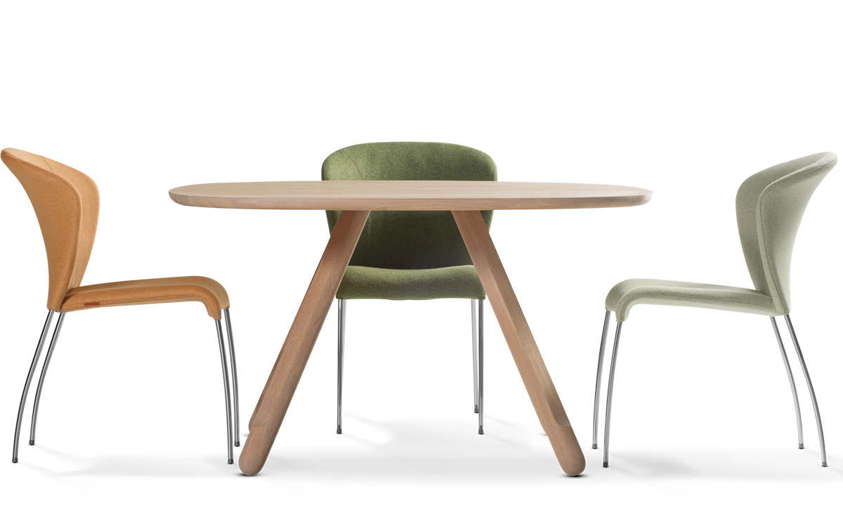 Image of: Stackable Dining Chairs Image