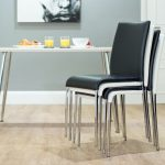Stackable Dining Chairs Set