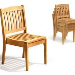 Stackable Patio Chairs Blue