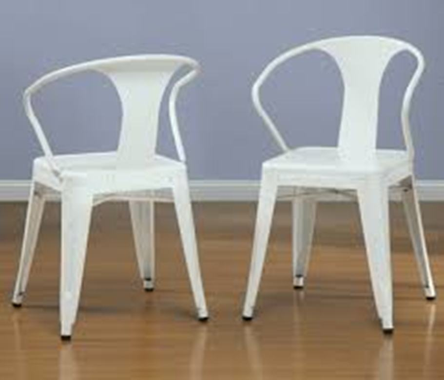 Image of: Stackable Patio Chairs Resin