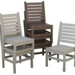 Stackable Patio Chairs with Arms