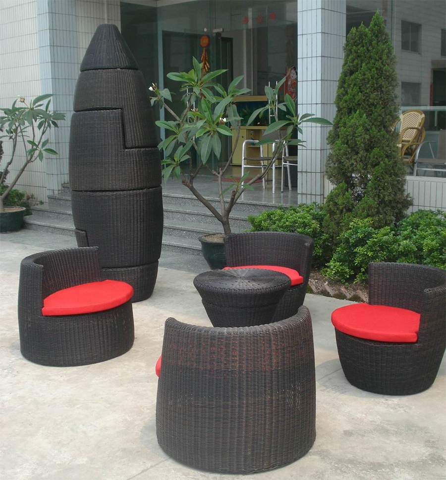 Image of: Stacking Patio Chairs Modern