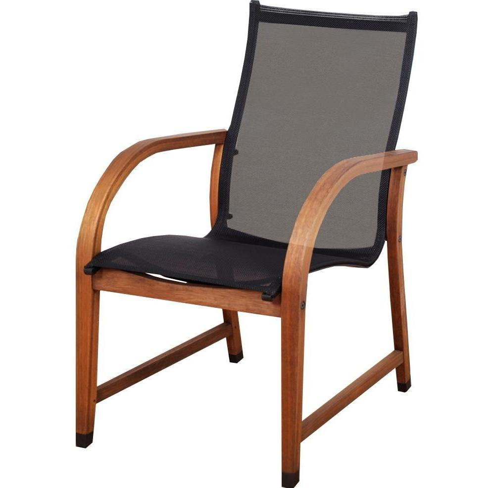 Image of: Stacking Patio Chairs Wood Frame