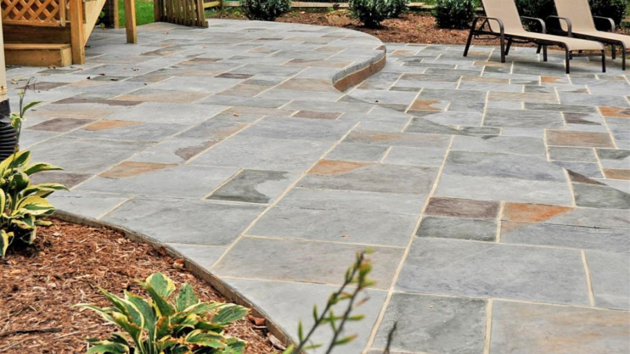 Image of: Stamped Concrete Patio Home