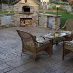 Stamped Concrete Patio Outdoor