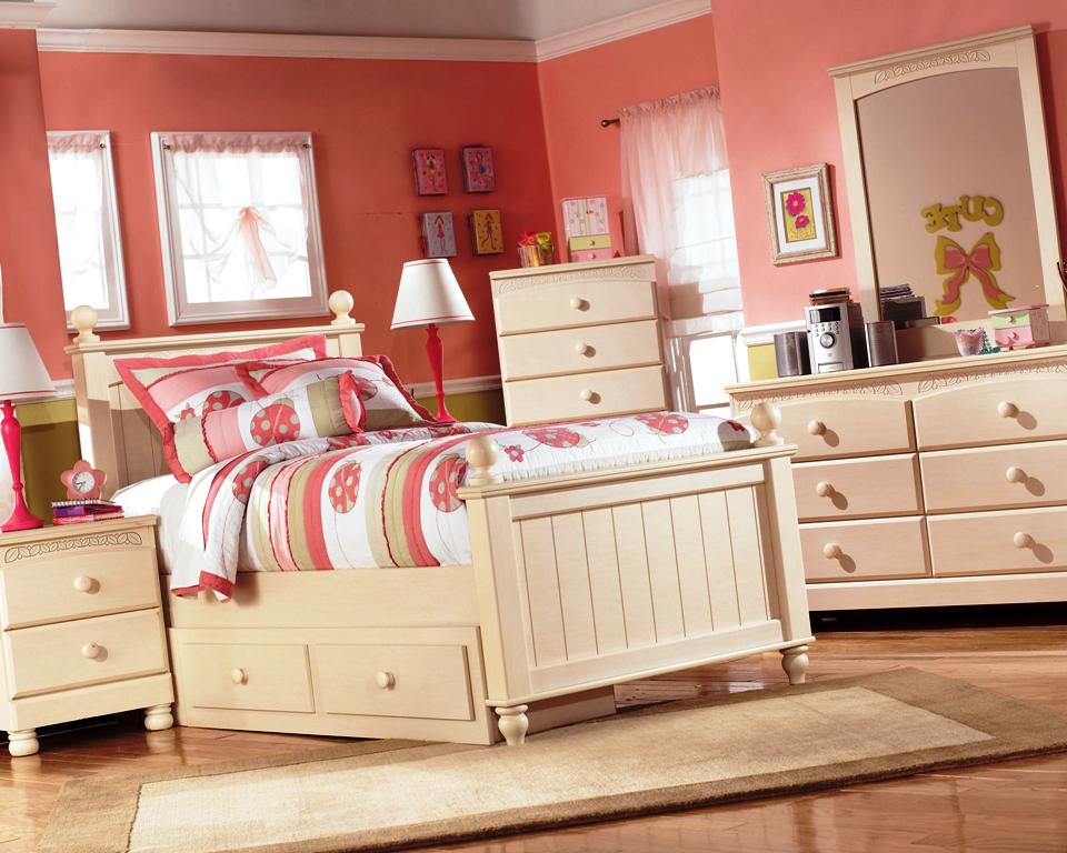 Image of: Style Twin Bedroom Sets For Girls