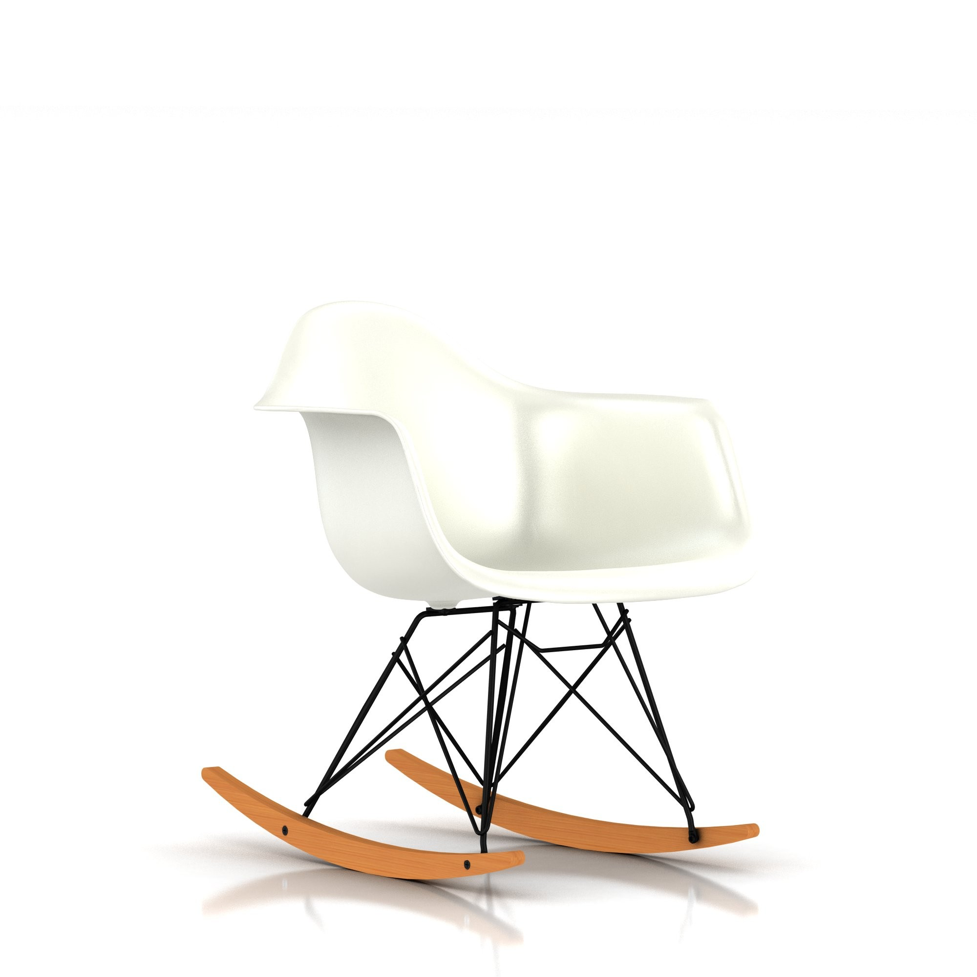 Image of: Stylish Eames Rocking Chair
