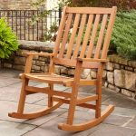 Stylish Outdoor Wicker Rocking Chairs
