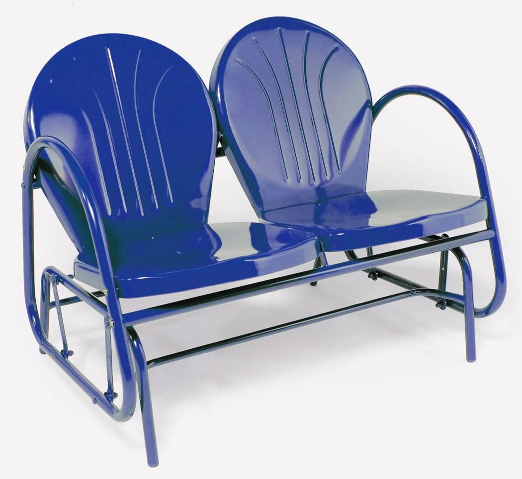 Image of: Stylish Patio Glider Chair