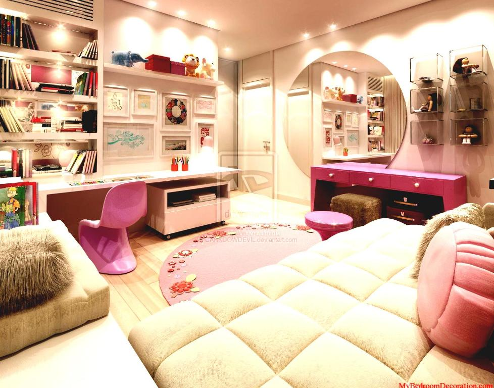Image of: Teenage Girl Bedroom Arts