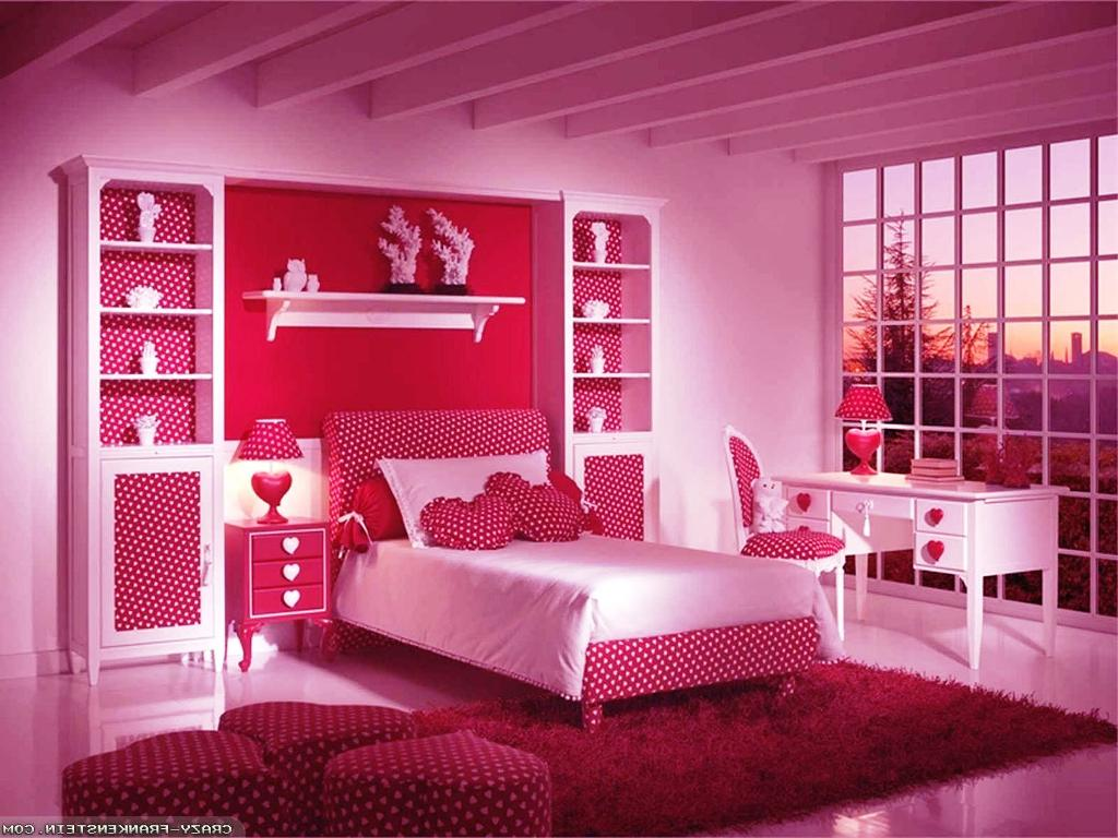 Image of: Teenage Girl Bedroom Decor Picture Ideas
