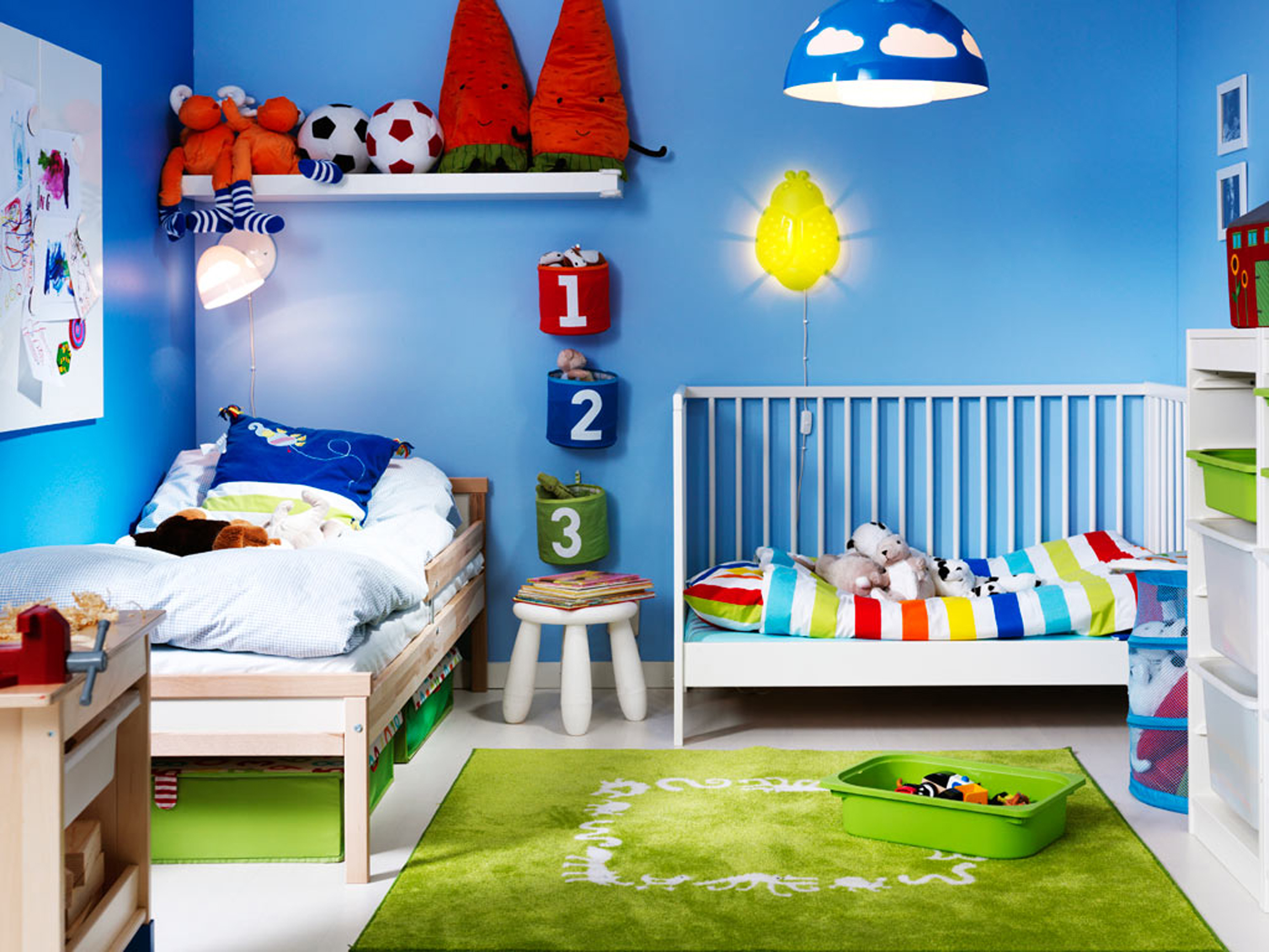 Image of: Toddler Bedroom Ideas For Twins
